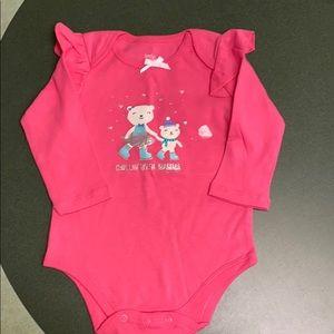 Little wonders pink top